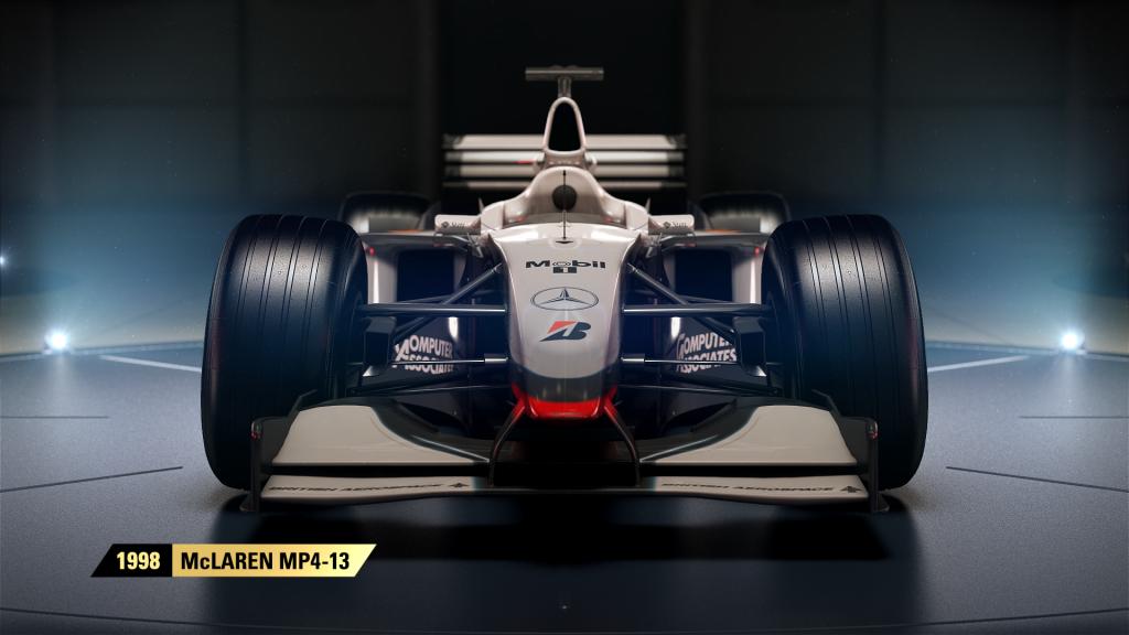 F1 2017 McLaren MP4 13