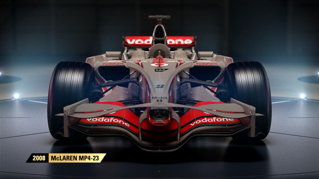 F1 2017 McLaren MP4 23