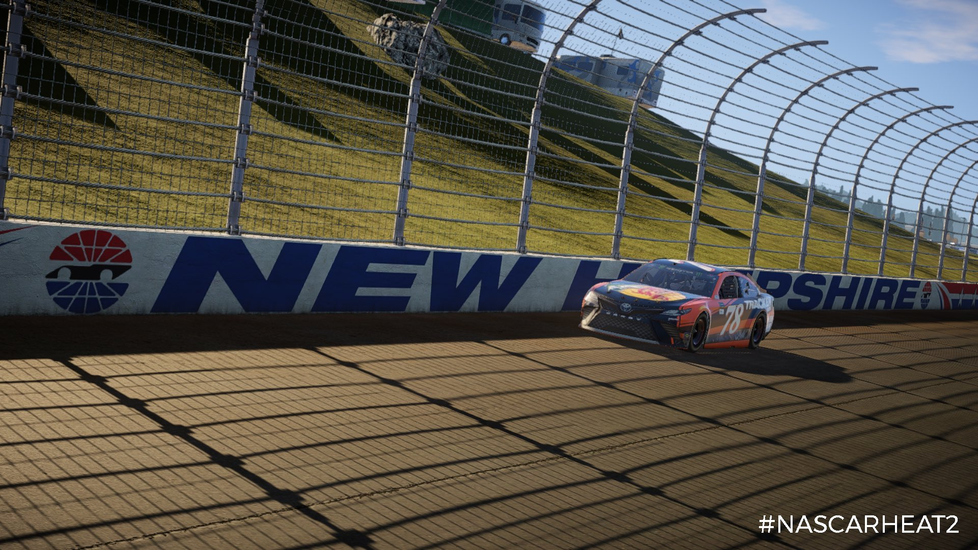 NASCAR Heat 2 Martin Truex Jr. New Hampshire Motor Speedway