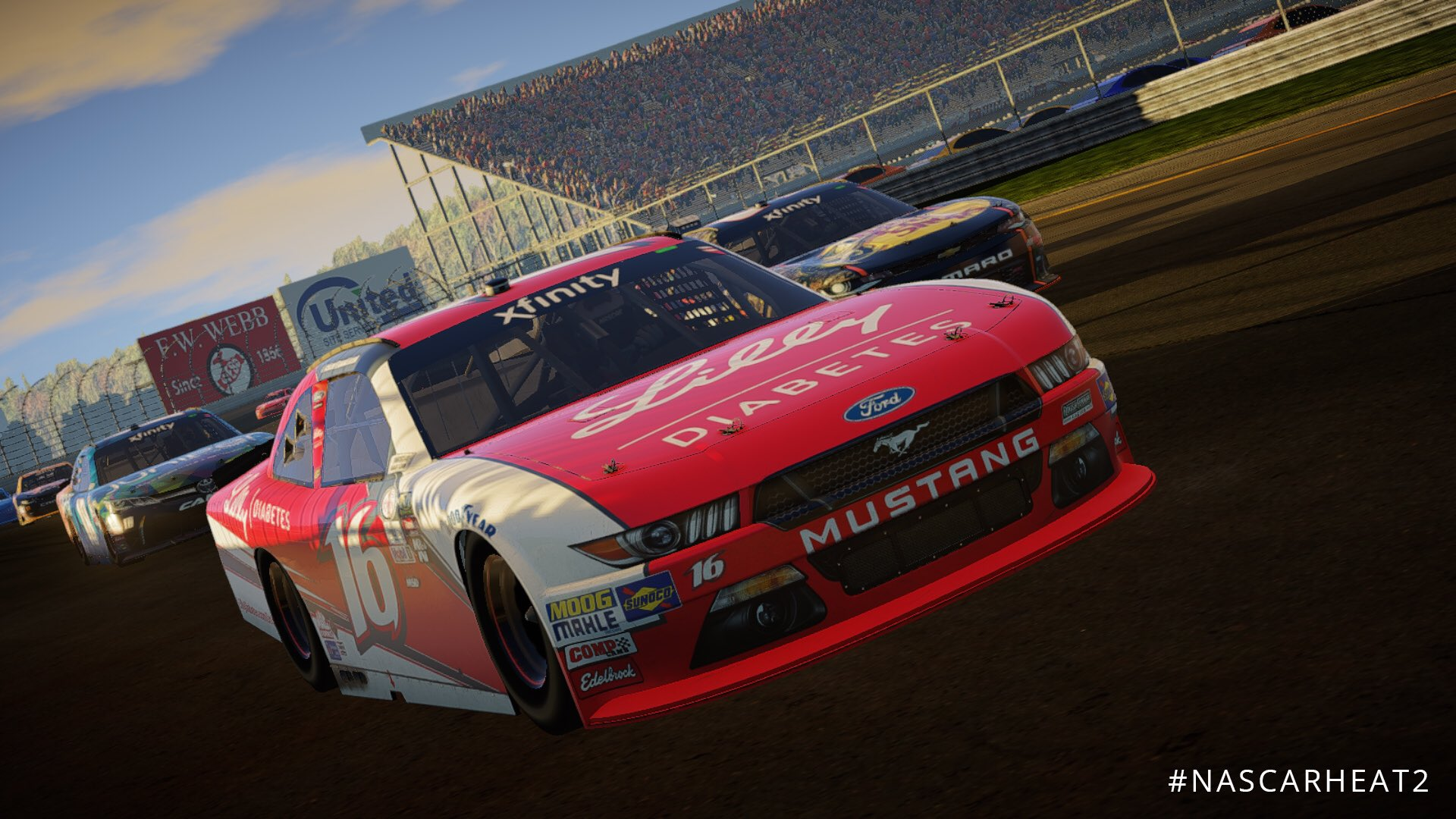 NASCAR Heat 2 XFINITY New Hampshire Motor Speedway