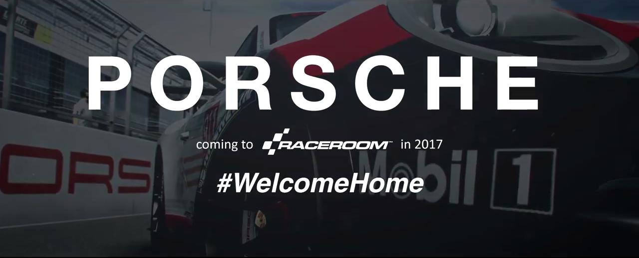Porsche coming to RaceRoom 2017