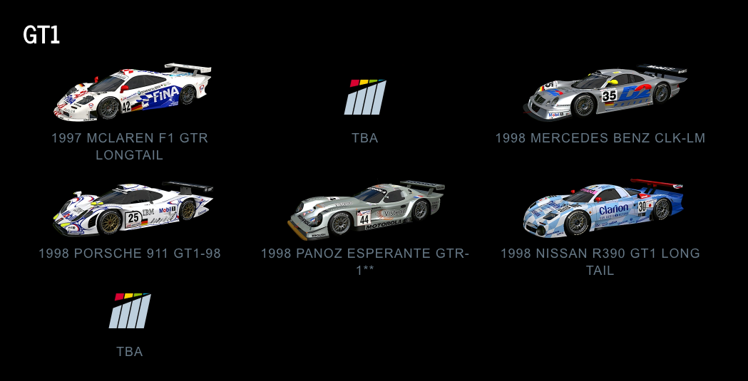 Project CARS 2 GT1 July