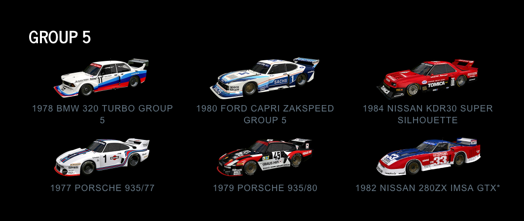 Project CARS 2 Group 5 July