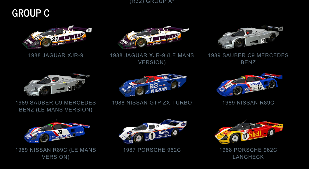Project CARS 2 Group C July