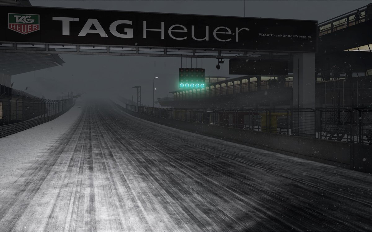 Project CARS 2 Red Bull Ring night snow