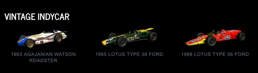 Project CARS 2 Vintage IndyCar July