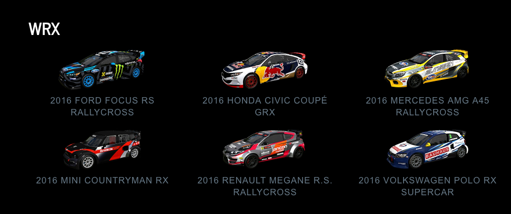 Project CARS 2 WRX July