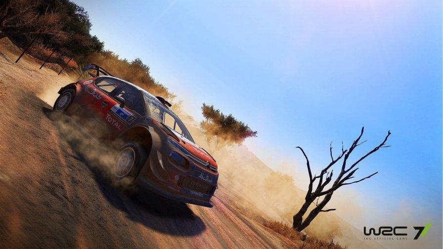 WRC 7 Citroen C3 WRC