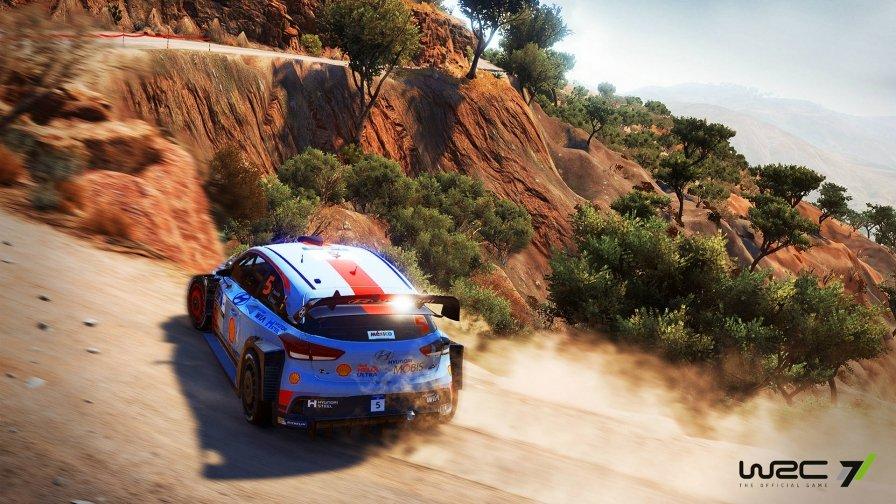 WRC 7 Hyundai