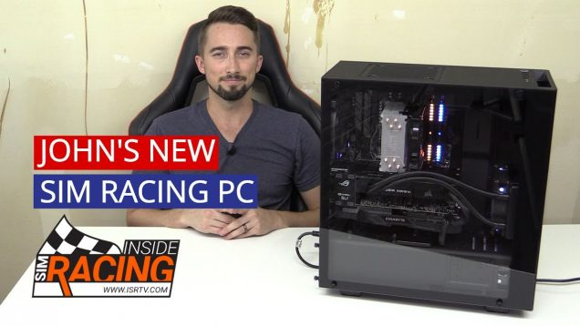 john's new sim racing pc
