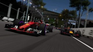 F1 2017 Ferrari and Red Bull screenshot