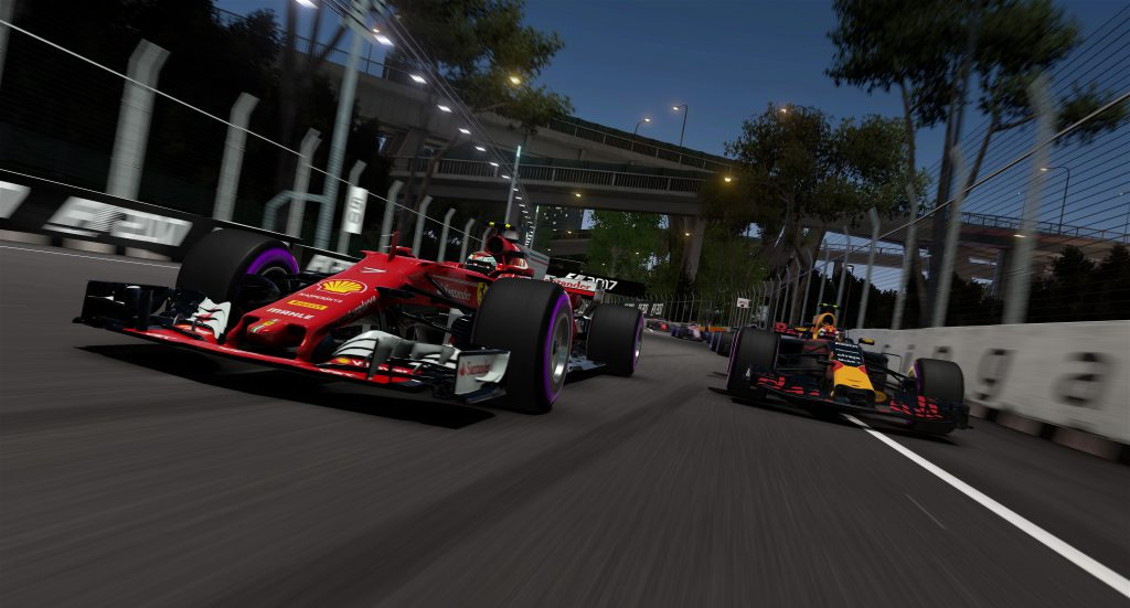 F1 2017 Ferrari and Red Bull screenshot