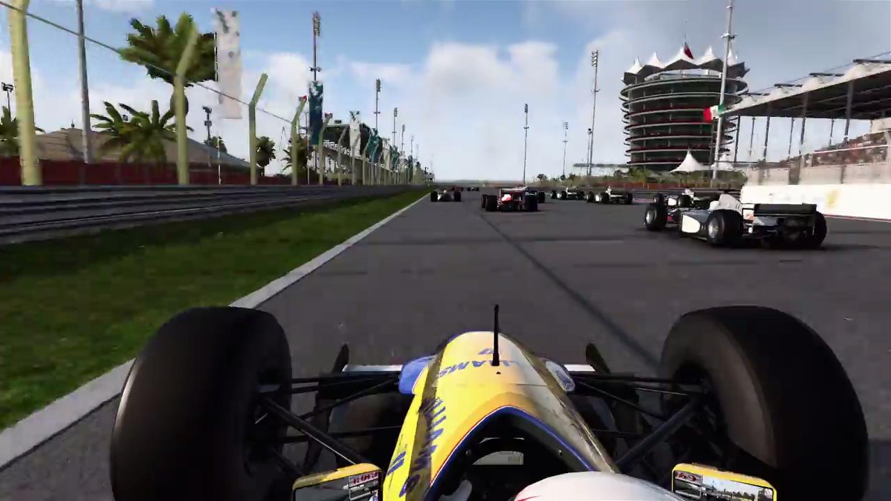 F1 2017 career mode trailer classic cars racing