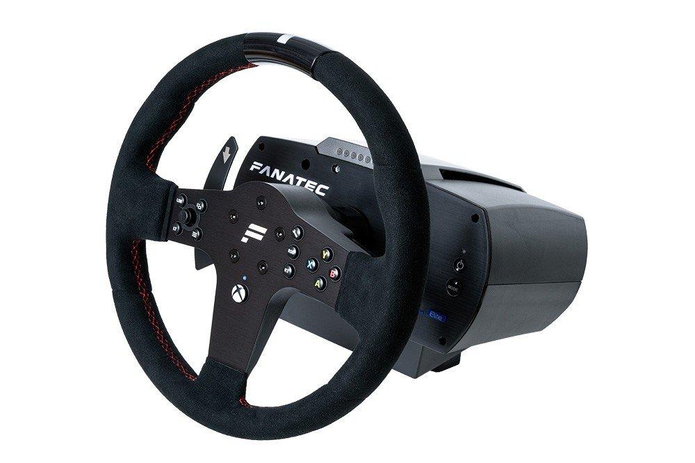 Fanatec CSL Elite Steering Wheel P1 on base 5