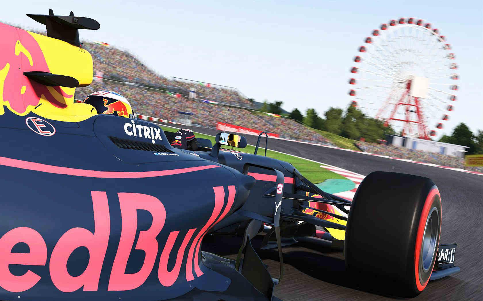Formula 1 Esports Series F1 2017 Suzuka Red Bull