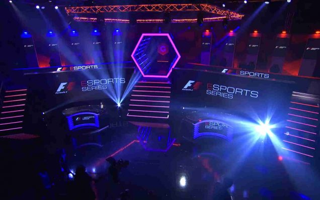 Formula 1 Esports Series Gfinity esport arena London