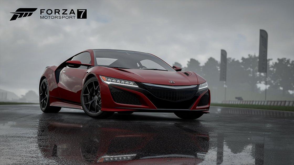 Forza Motorsport 7 2017 Acura NSX