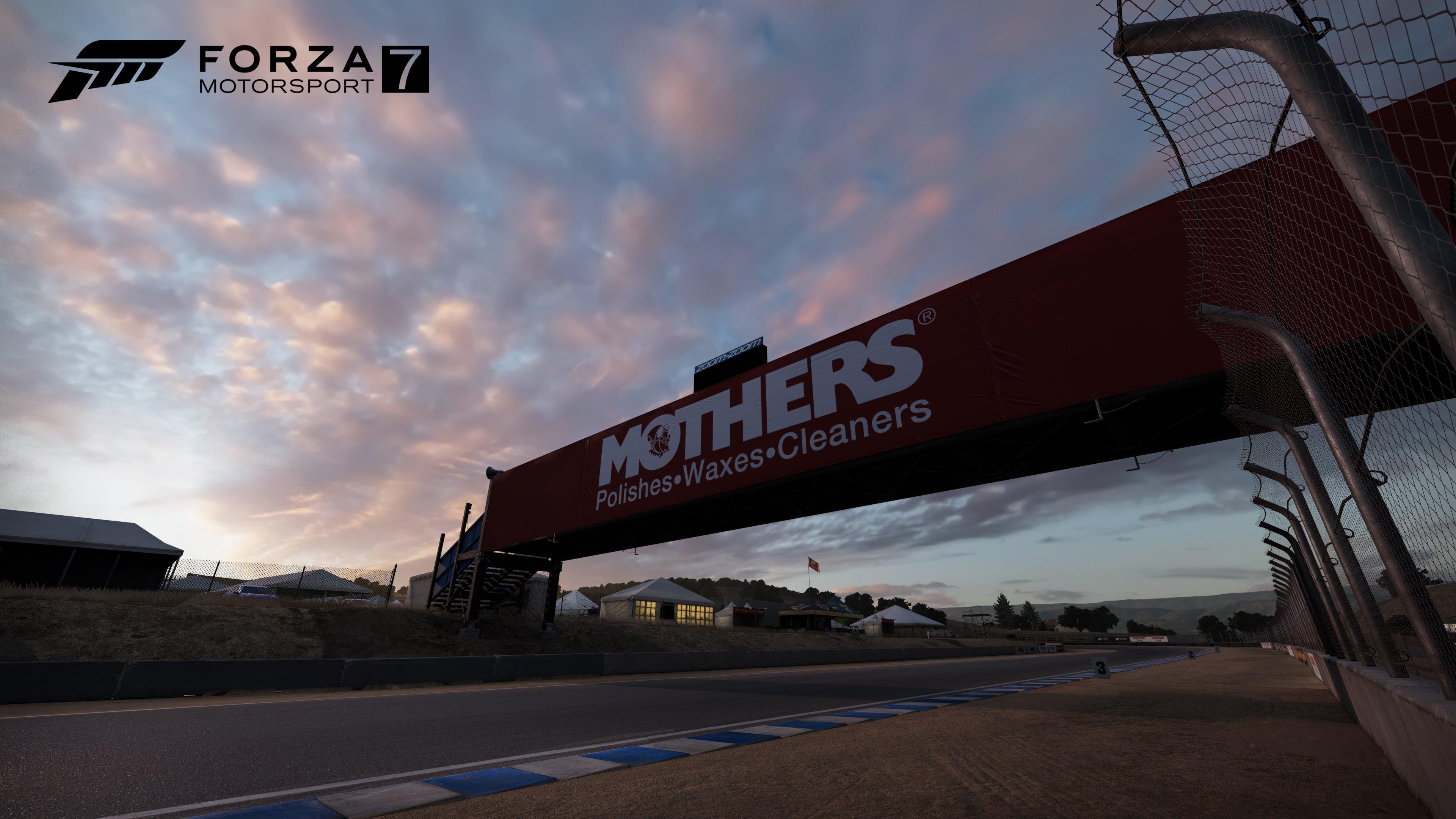 FM7 Track Reveal Mazda Raceway Laguna Seca