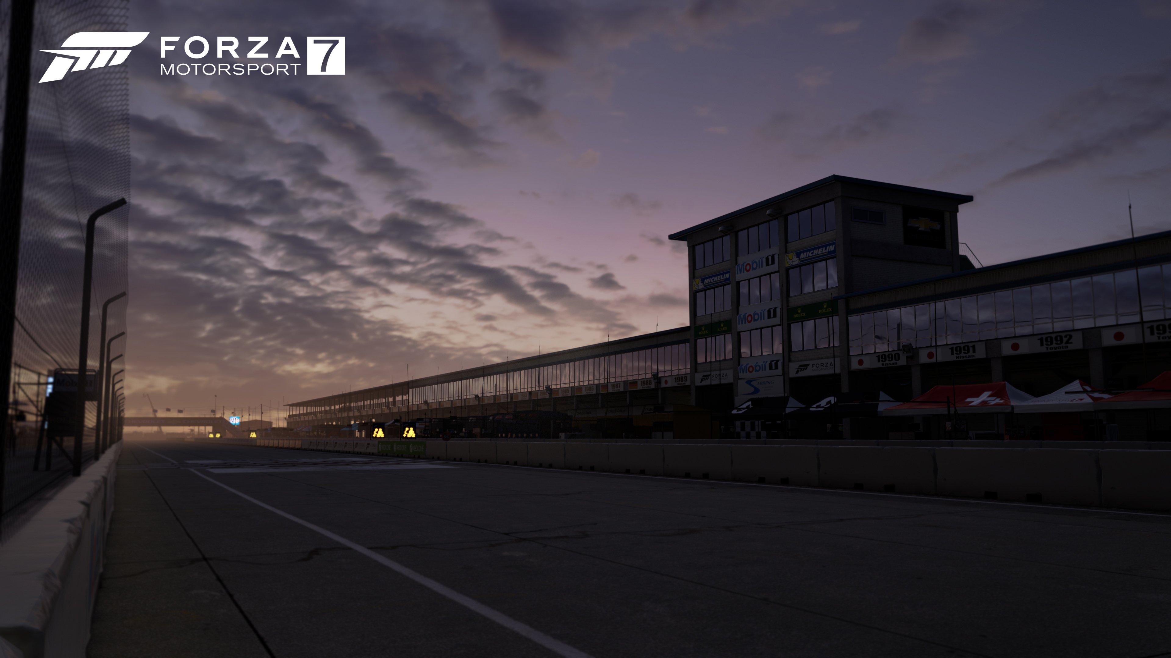 FM7 Track Reveal Sebring International Raceway