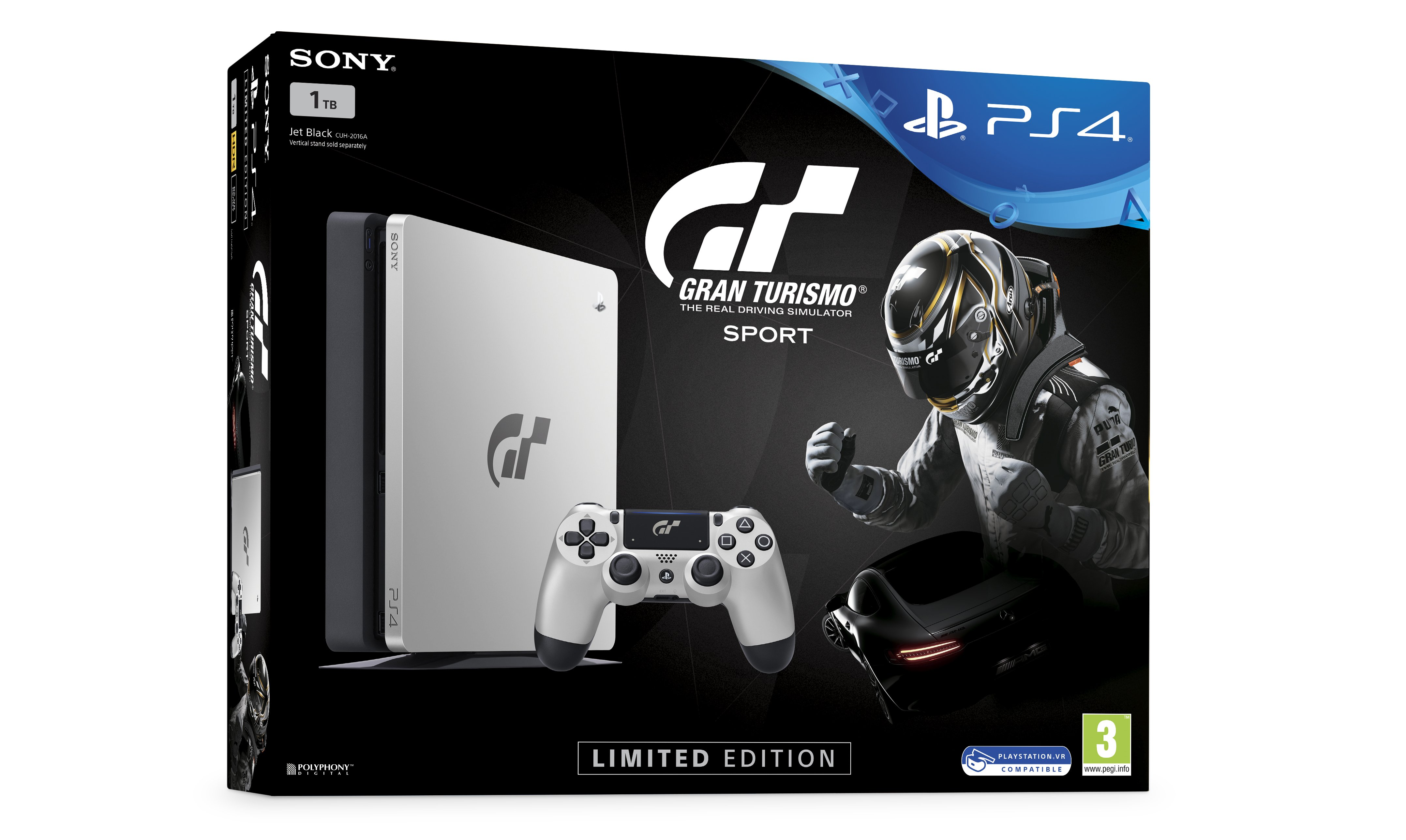 Gran Turismo Sport PlayStation 4 box