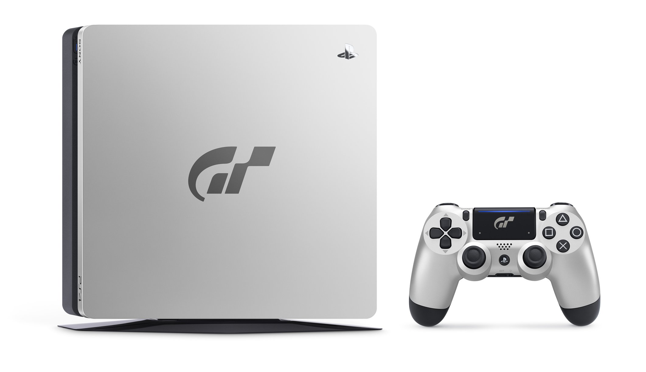 Gran Turismo Sport PlayStation 4 console and controller