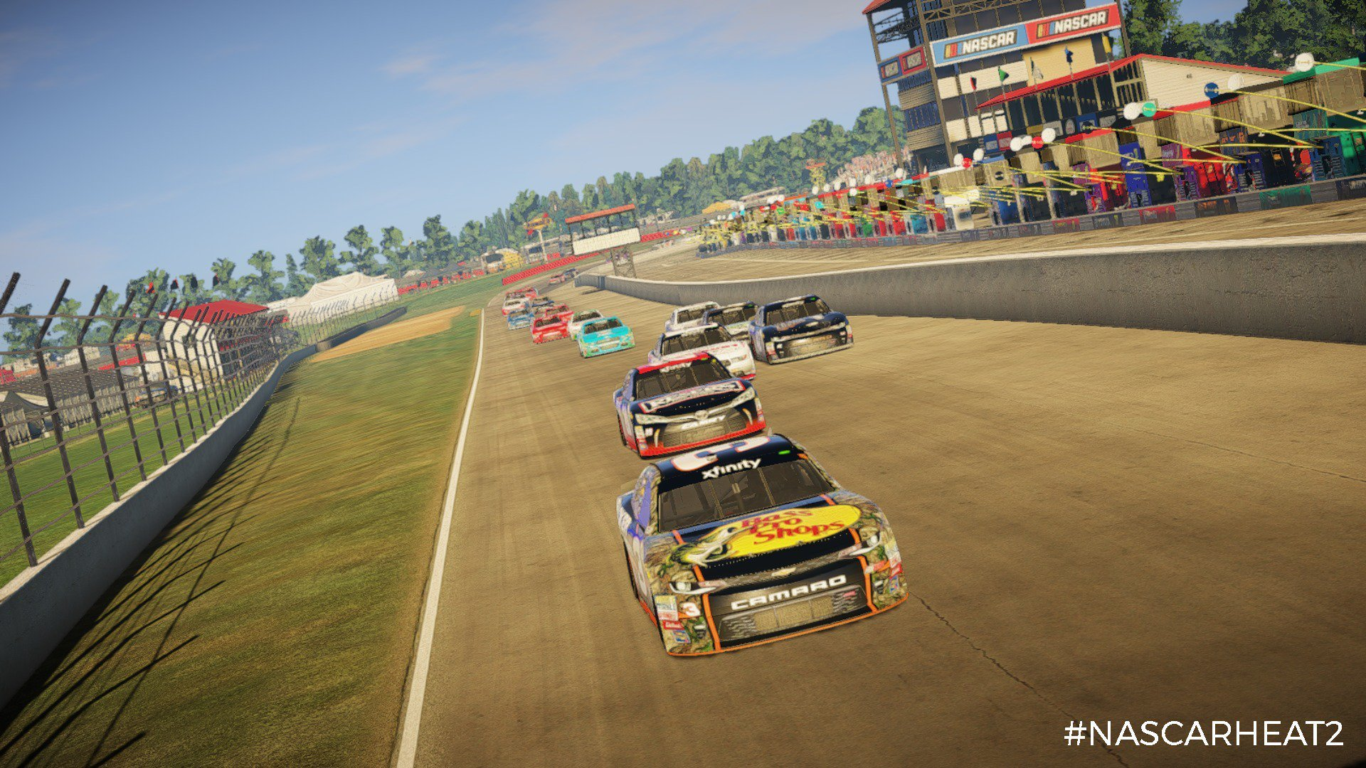 NASCAR Heat 2 XFINITY Roster