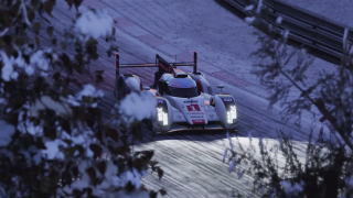 Project CARS 2 Audio E-Tron in the snow screenshot
