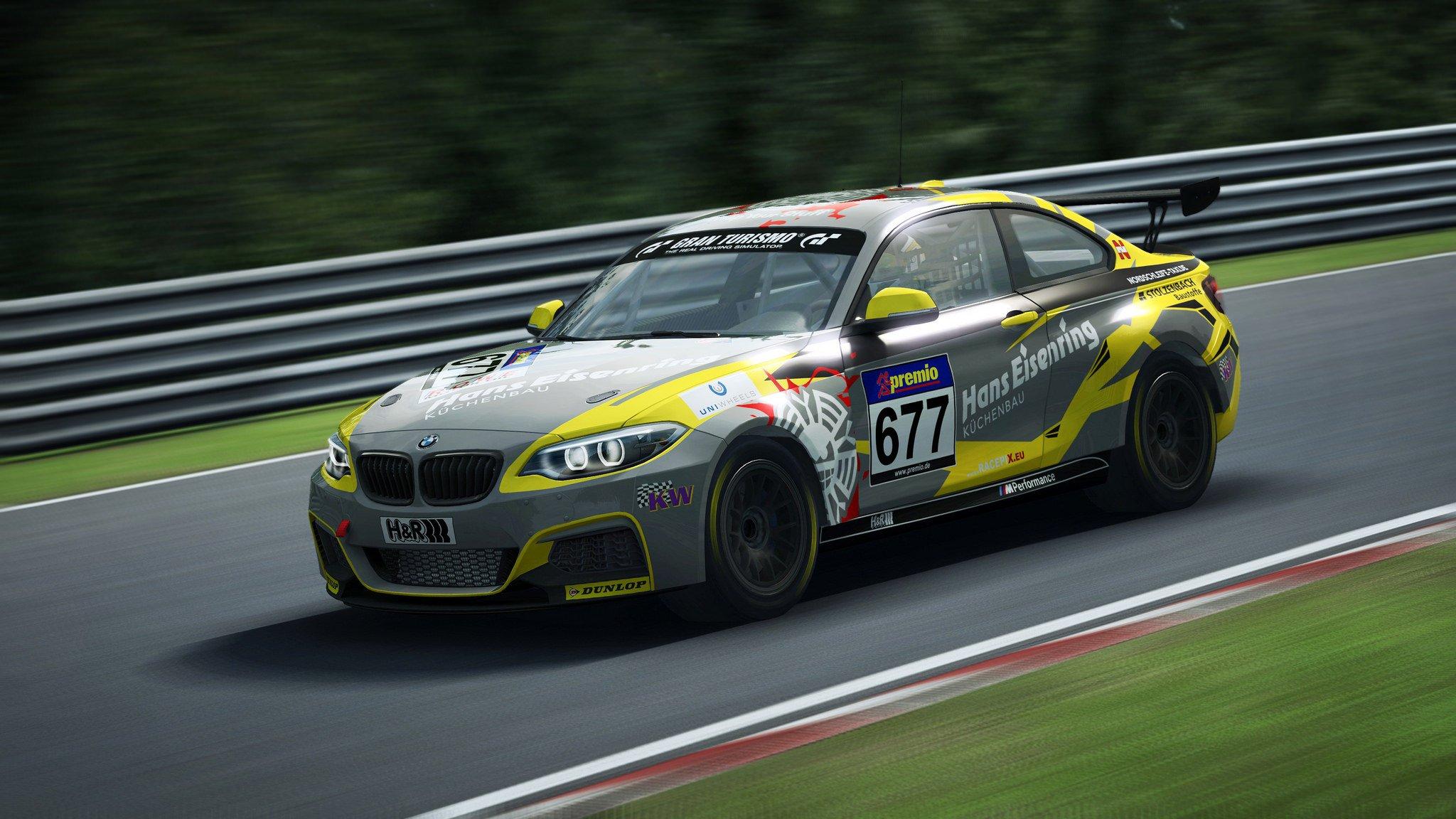 RaceRoom BMW M235i release Nordschleife 2