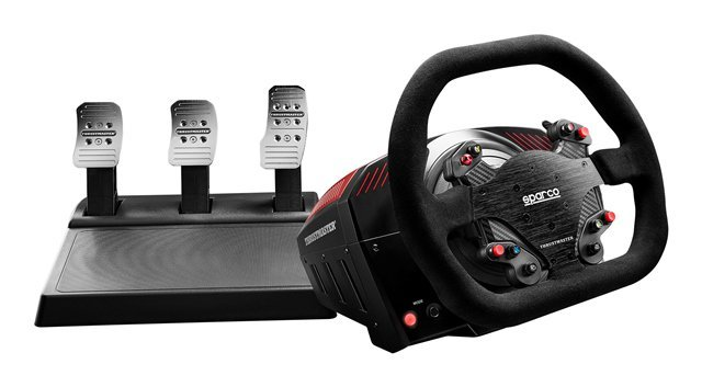 Thrustmaster TS-XW Racer wheel and pedals