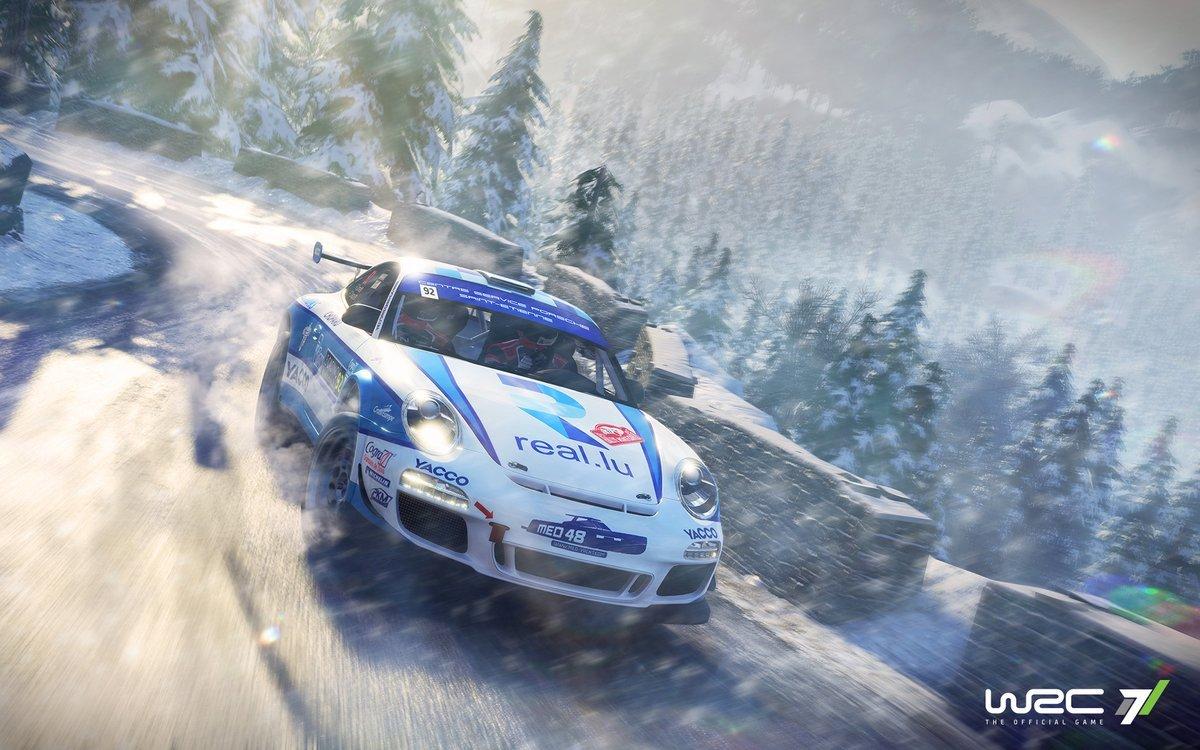 WRC 7 Porsche 911 GT3 RS RGT 1