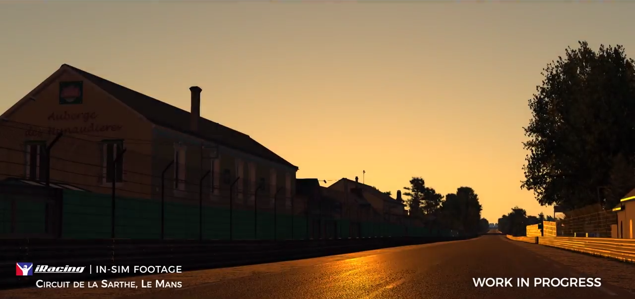 iRacing Day/ night preview Le Mans dawn 2