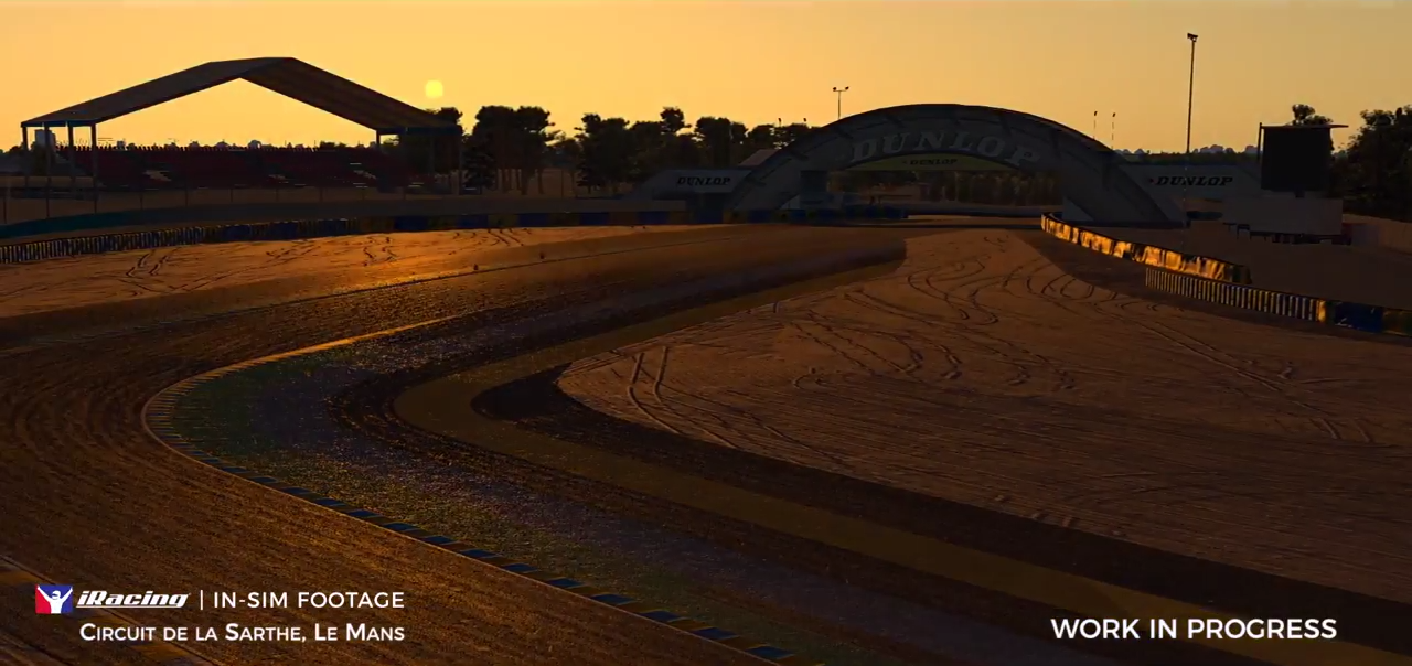 iRacing Day/ night preview Le Mans sunset
