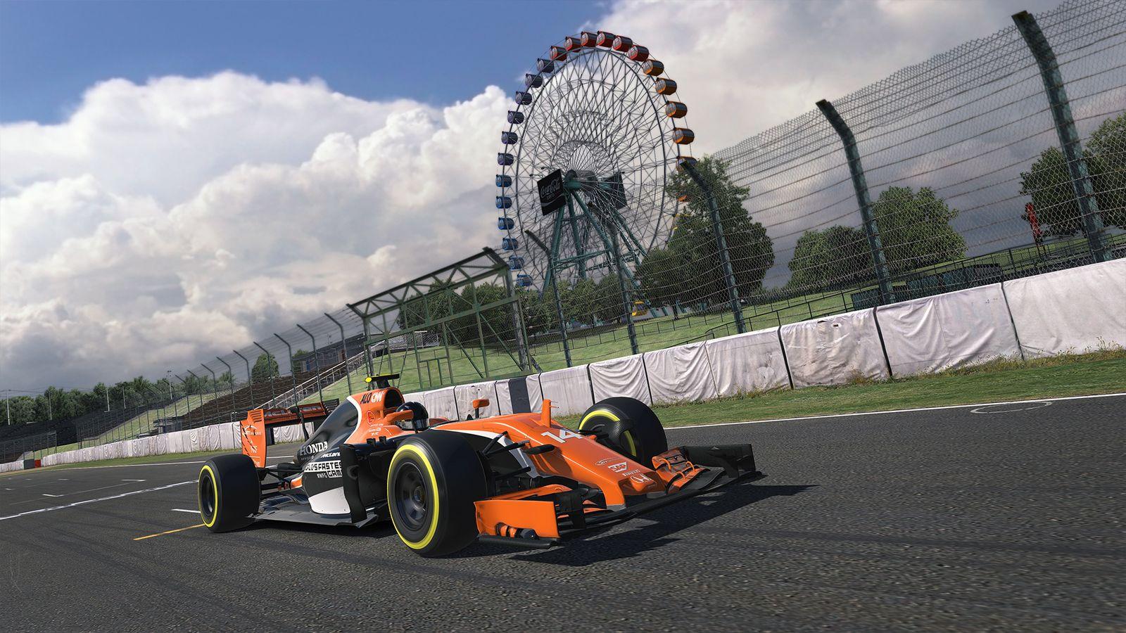 iRacing McLaren WFG 1