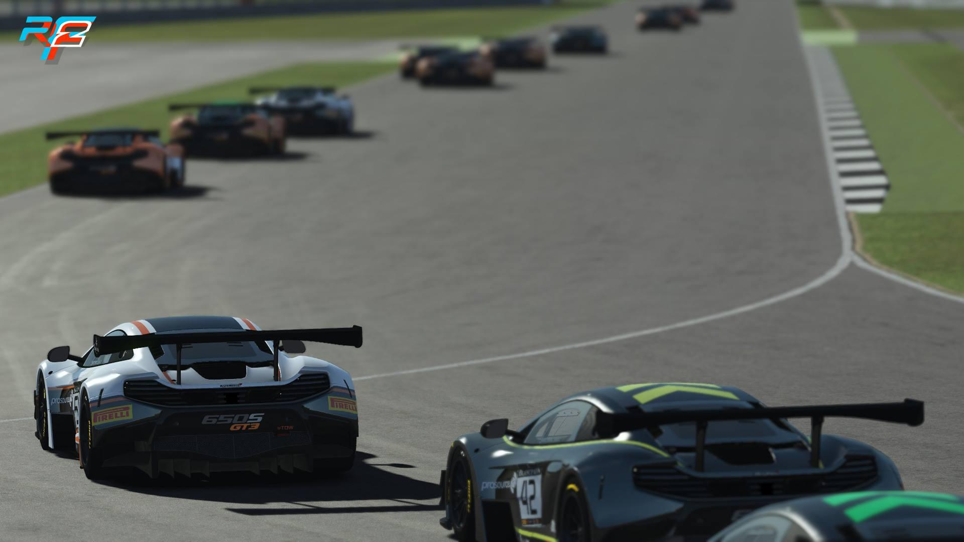 rFactor 2 McLaren 650S GT3 release 1