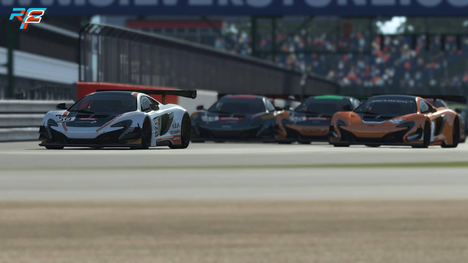 rFactor 2 McLaren 650S GT3 release 2