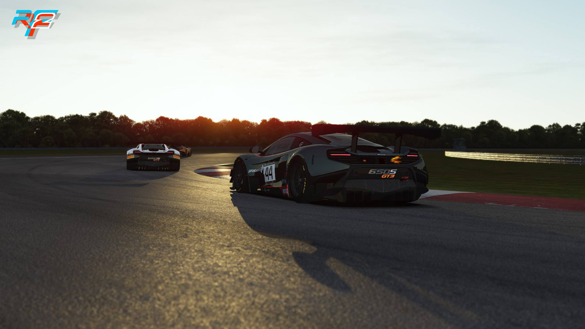 rFactor 2 McLaren 650S GT3 release 3