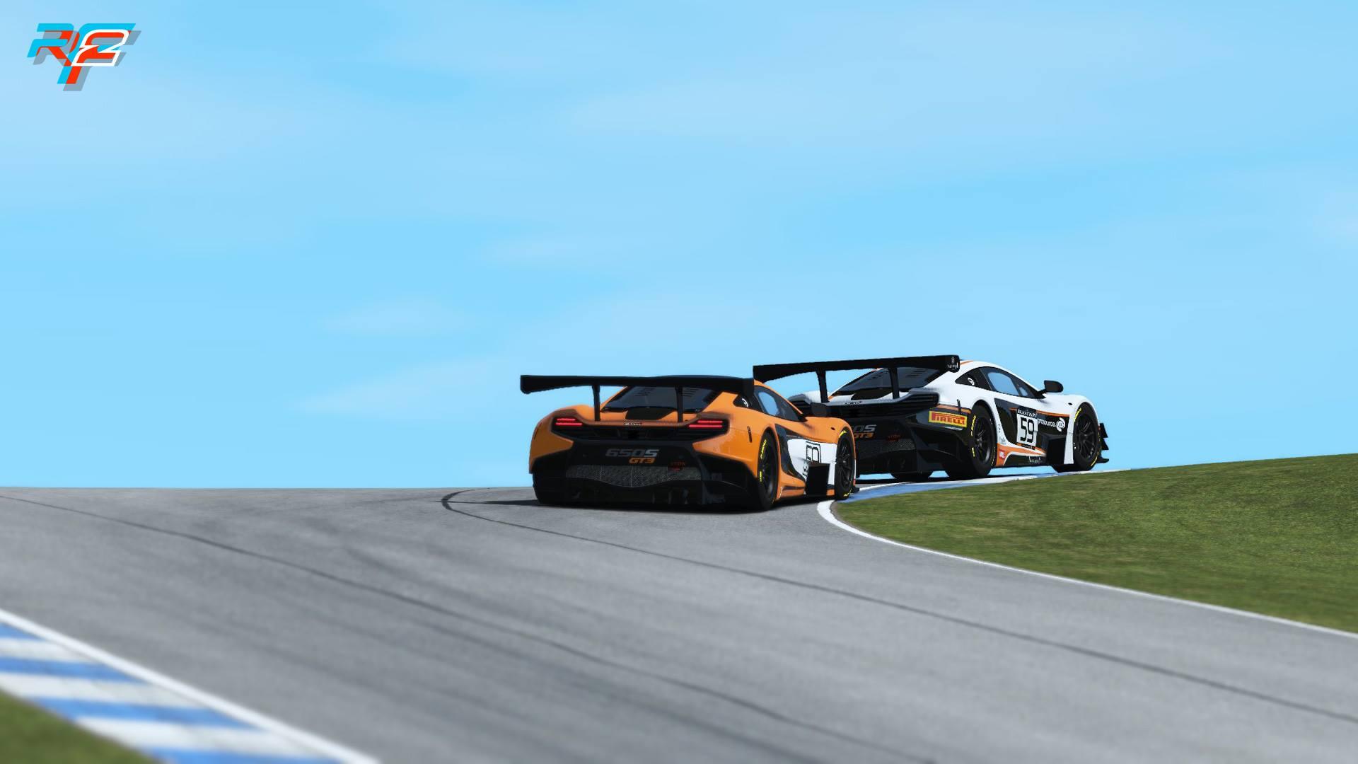 rFactor 2 McLaren 650S GT3 release 4