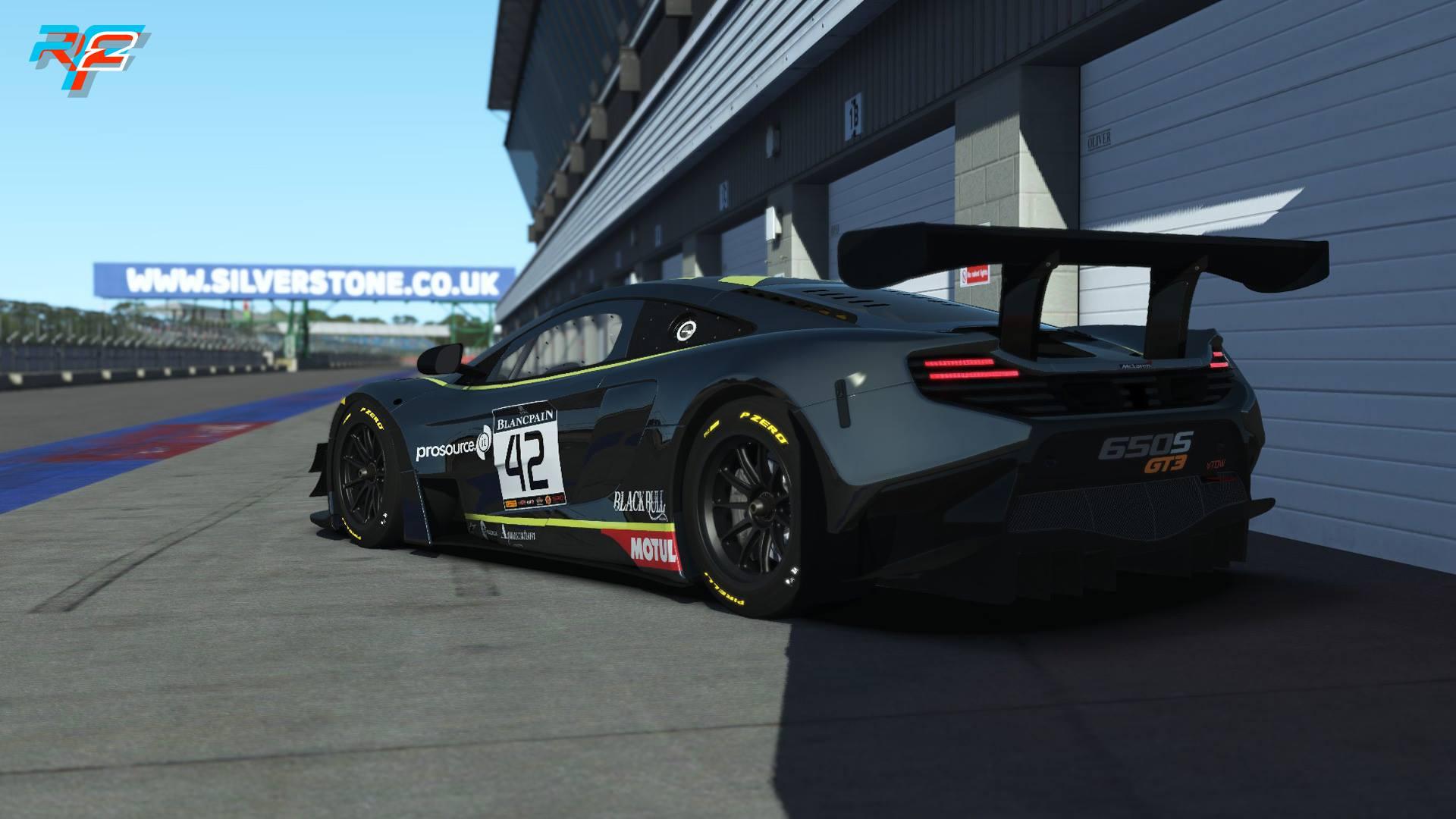 rFactor 2 McLaren 650S GT3 release 5