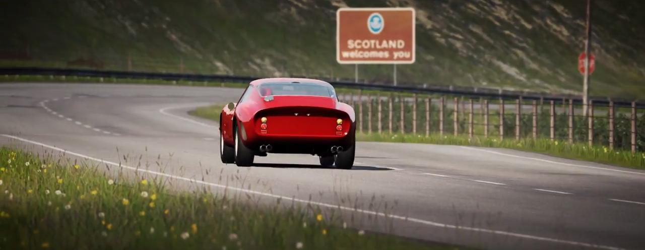 Assetto Corsa Ferrari 250 GTO Highlands screenshot