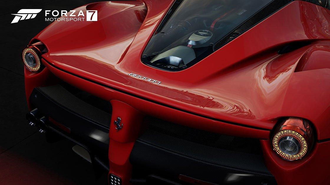 Forza Motorsport 7 Ferrari LaFerrari back