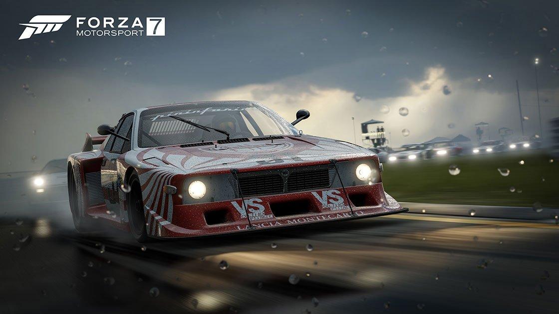 Forza Motorsport 7 Lancia 037 rain