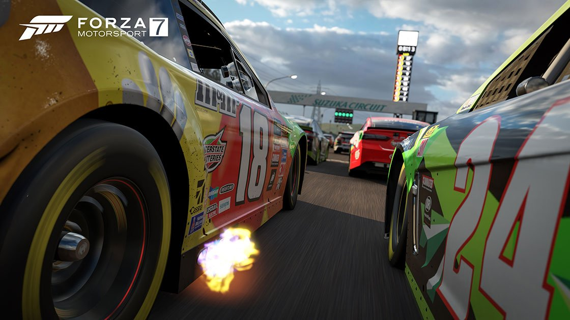 Forza Motorsport 7 NASCAR close up