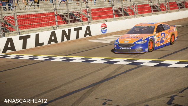NASCAR Heat 2 Ford Atlanta