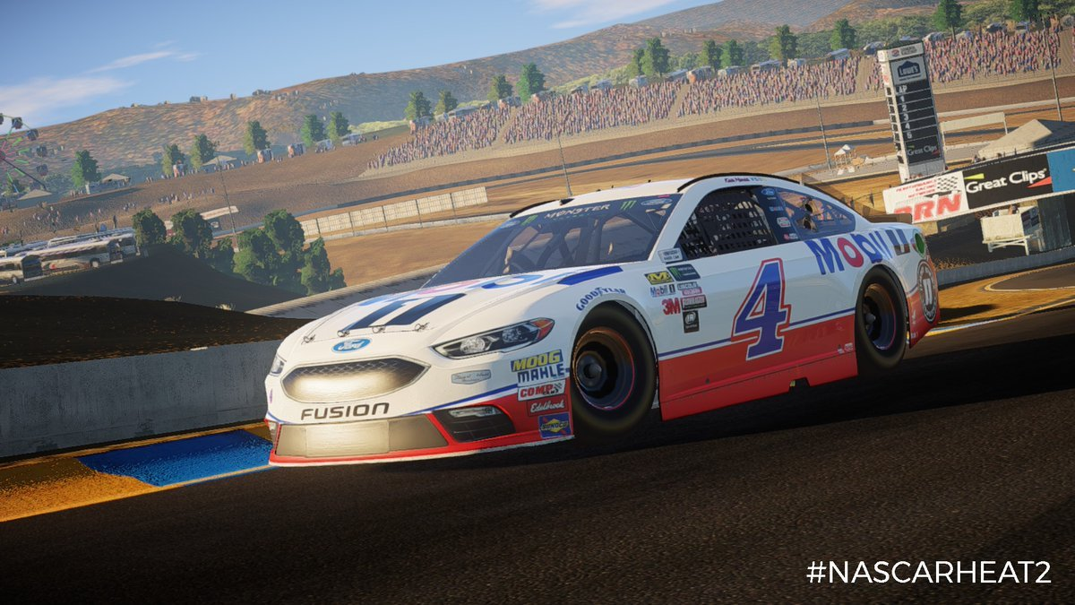 NASCAR Heat 2 Ford number 4