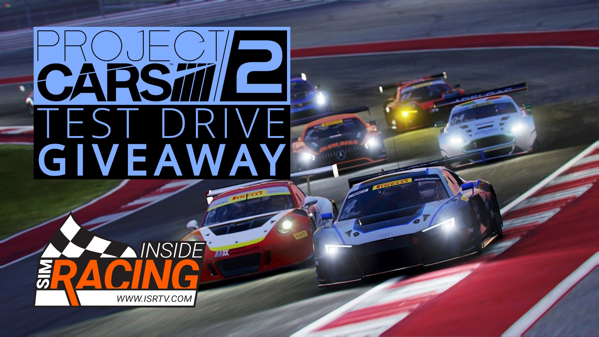 Project Cars 2 Test Drive Giveaway Inside Sim Racing