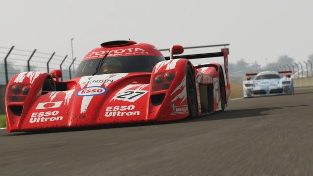 Project CARS 2 Toyota GT One on track close up