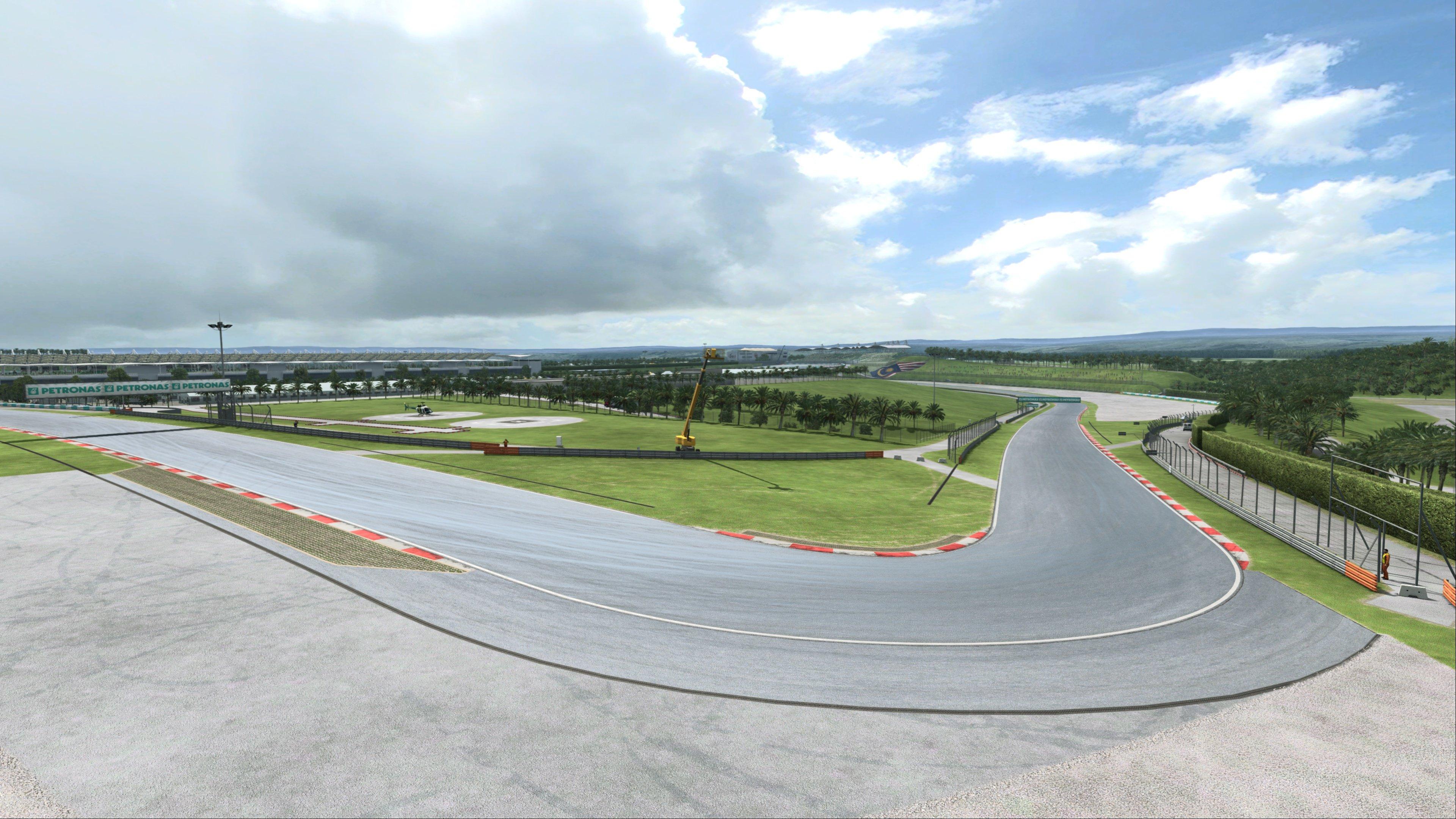 RaceRoom Sepang International Circuit Preview 3