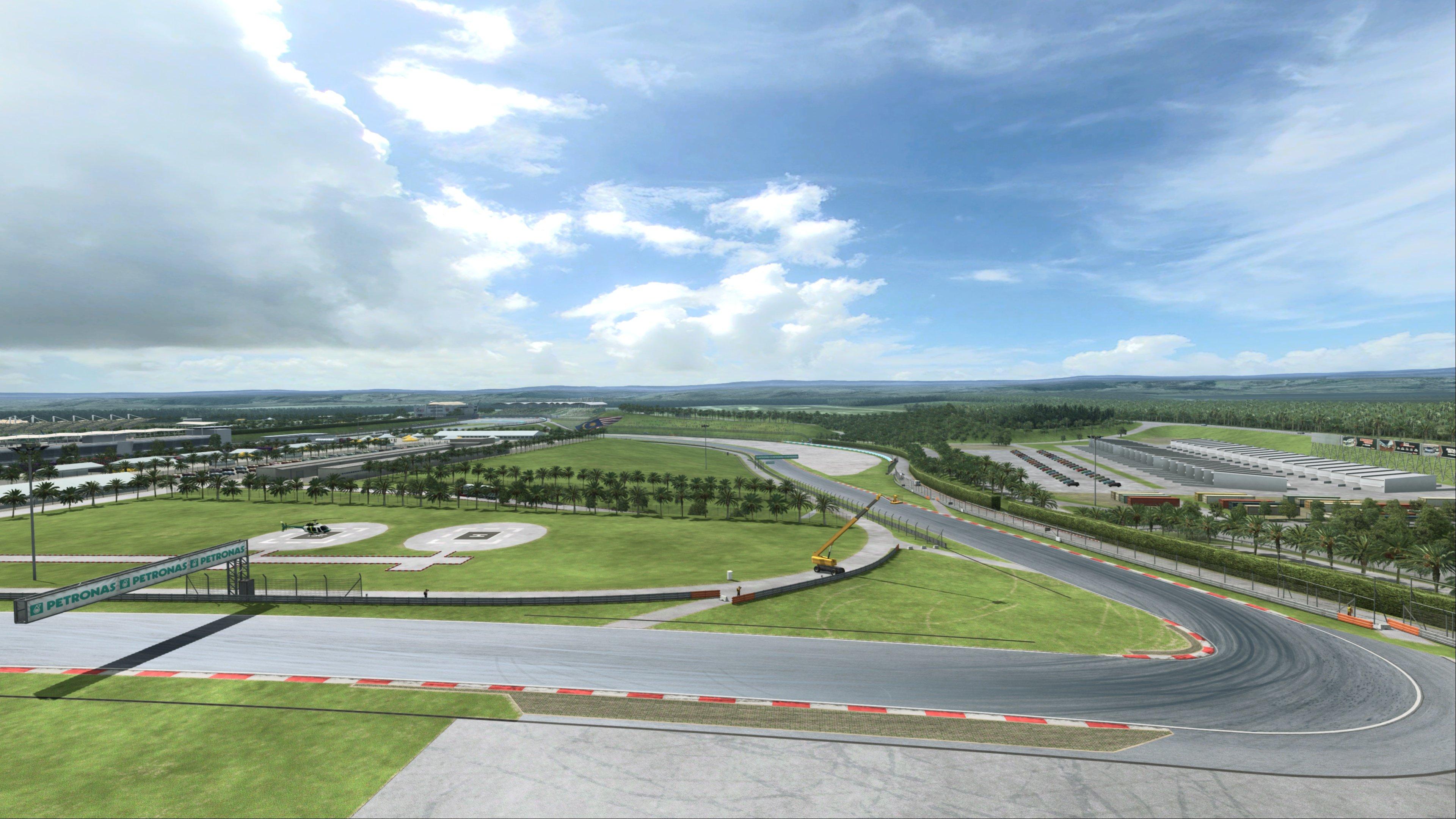 RaceRoom Sepang International Circuit Preview 4