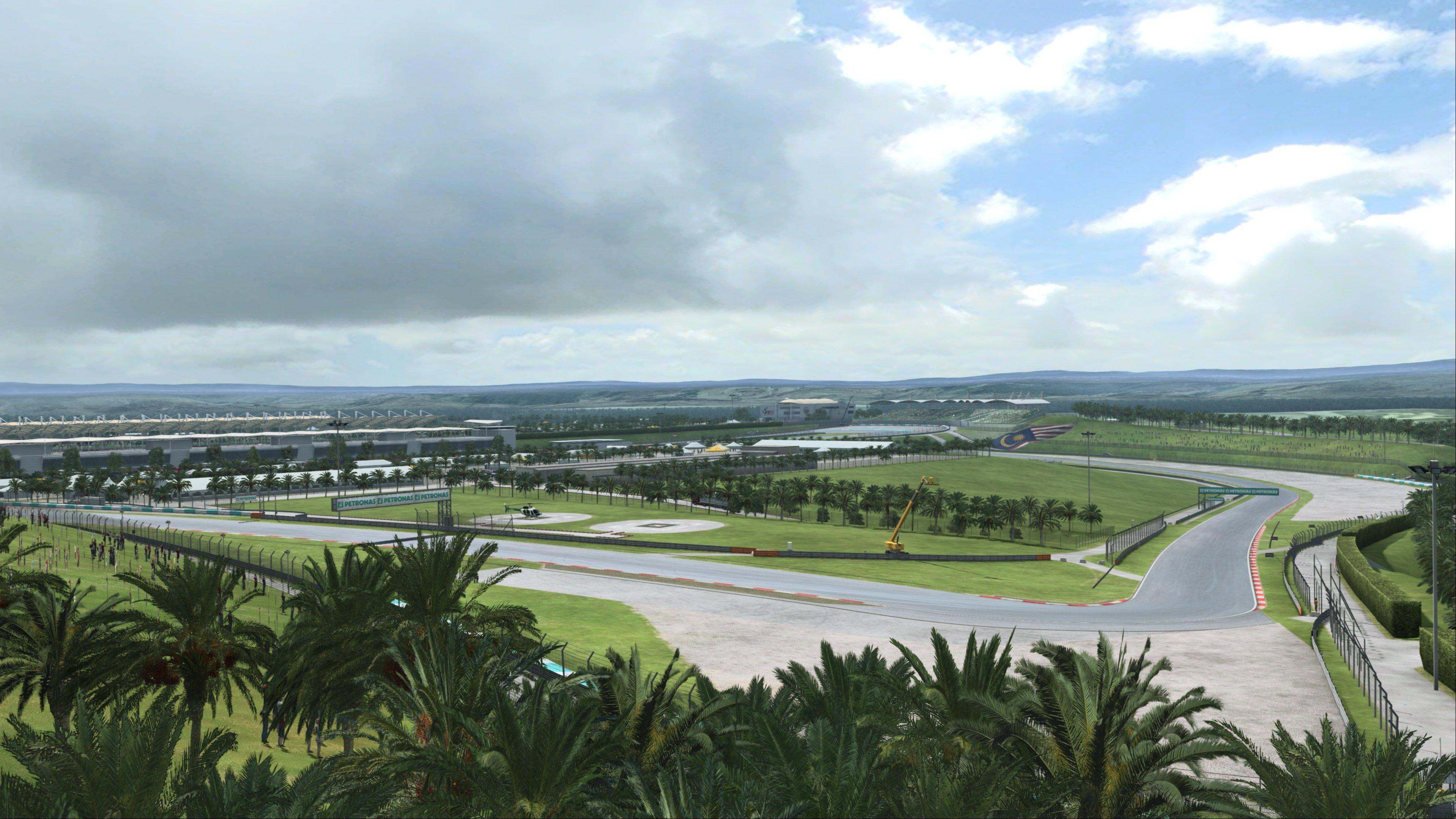 RaceRoom Sepang International Circuit Preview 5