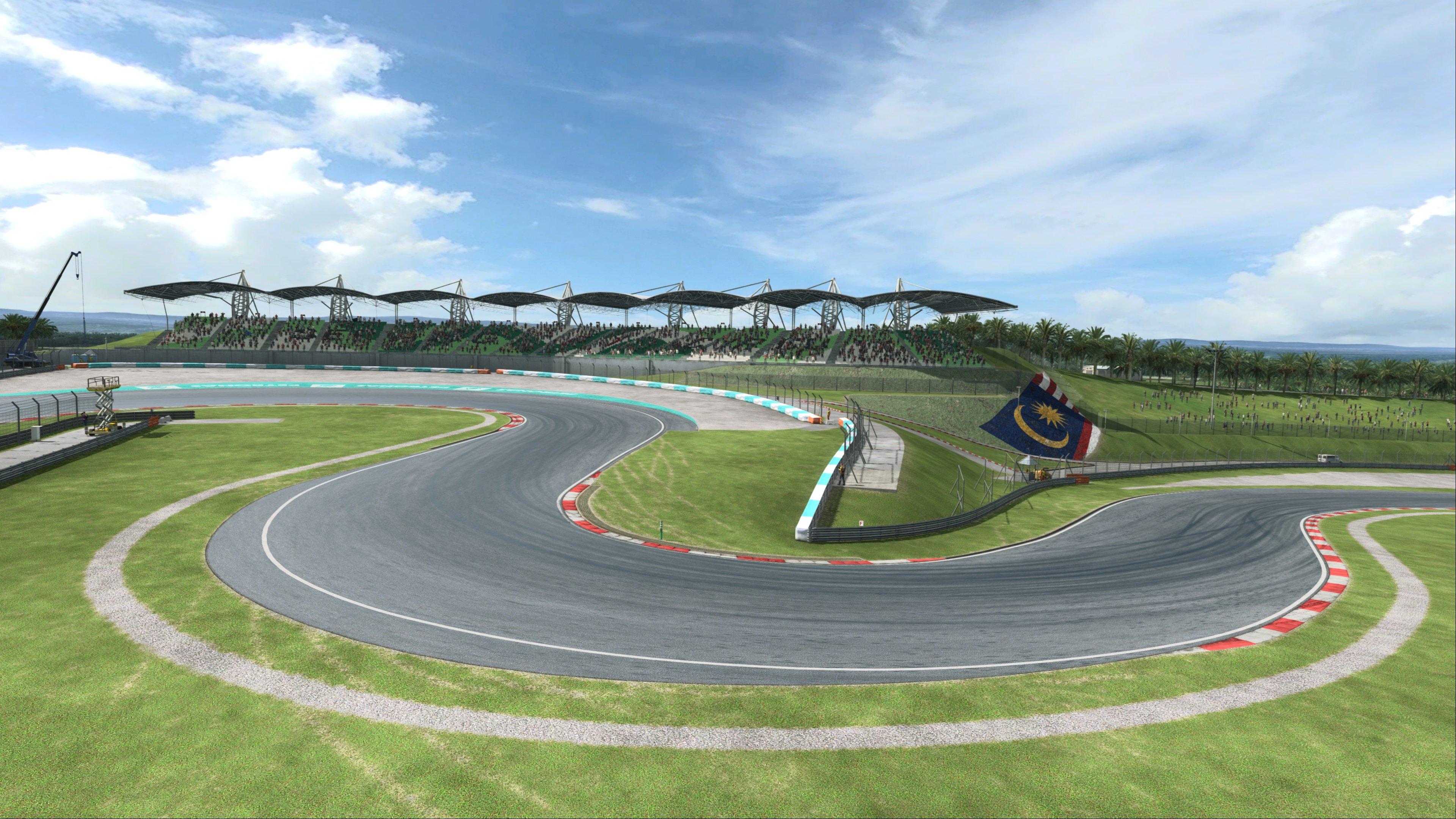 RaceRoom Sepang International Circuit Preview 7